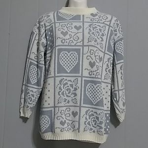 Private Eyes Vintage sweater Size S/M
